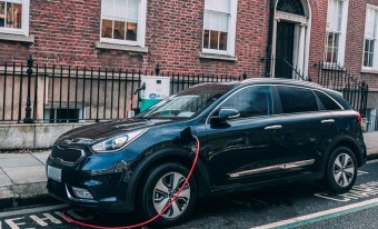Electric car charging through public infastructure