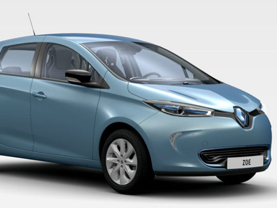 RENAULT Zoe Intense (MY 2014)