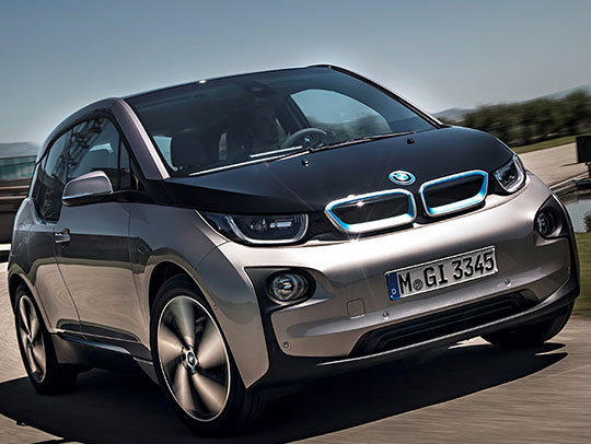 BMW i3 with Range Extender (MY 2014)
