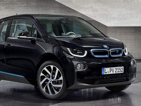 BMW i3 with Range Extender